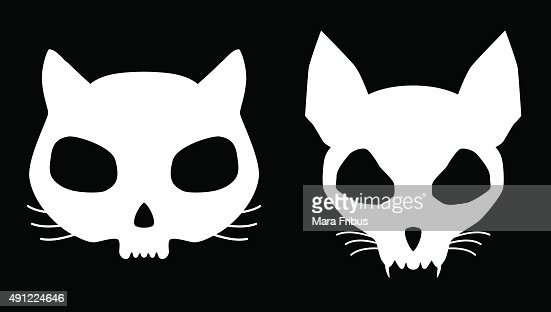 kitten skulls vector art | thinkstock
