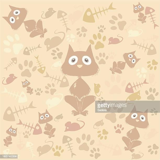 53 Cute Animal Print Wallpaper Stock Vector Art Graphics