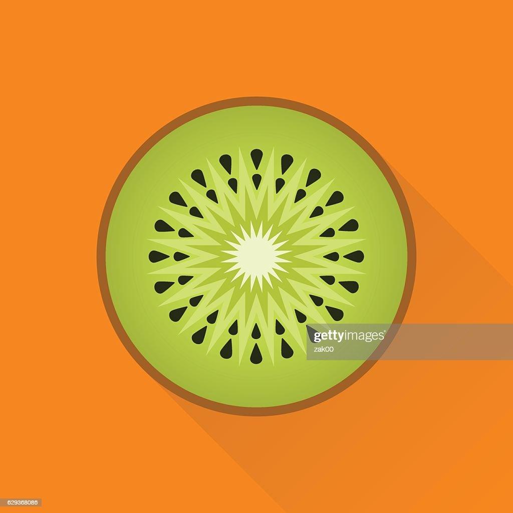 Kiwi flat icon