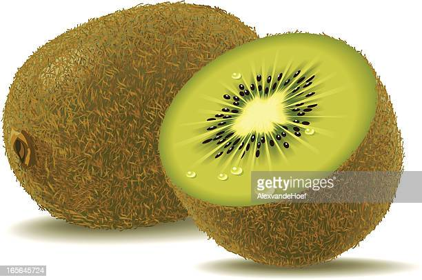 ilustrações de stock, clip art, desenhos animados e ícones de quivi - fruta kiwi