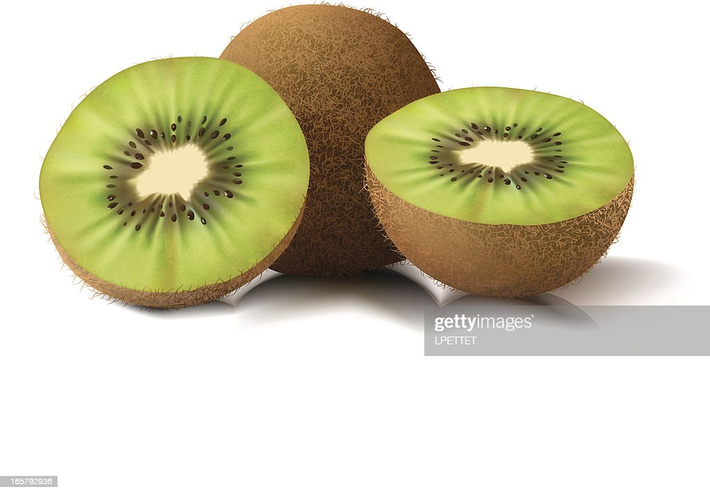 Kiwi - Vector Illustration