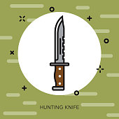 Knife Military Icon