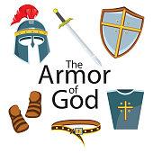 Knight armor element