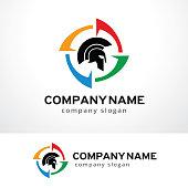 Knight Symbol Template Design Vector, Emblem, Design Concept, Creative Symbol, Icon