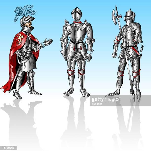 knights - helmet visor stock illustrations, clip art, cartoons, & icons
