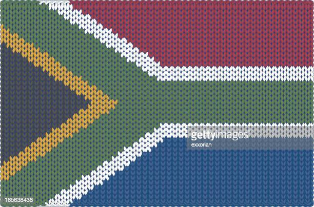 Knitted Flag - South Africa