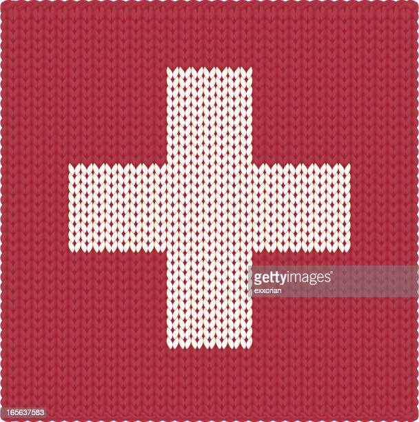 Tejido bandera suiza