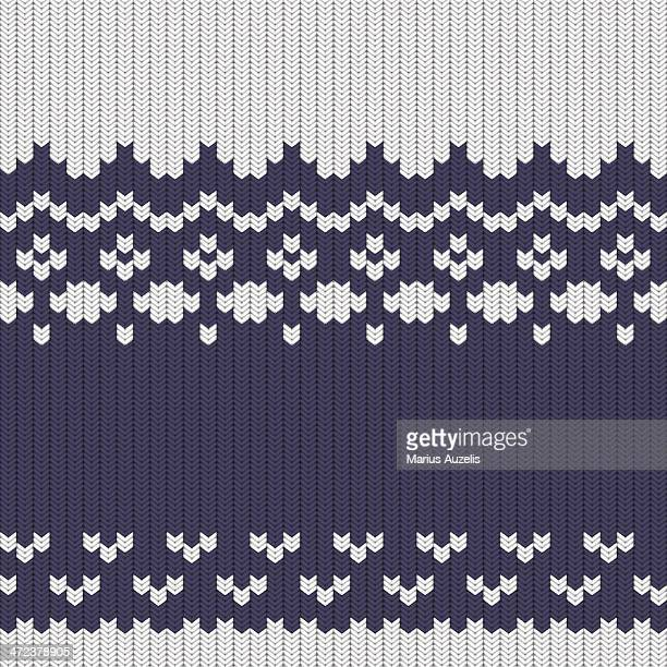 knitted sweater seamless pattern - cardigan sweater stock illustrations, clip art, cartoons, & icons