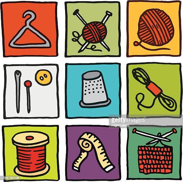 Iconos de tejer