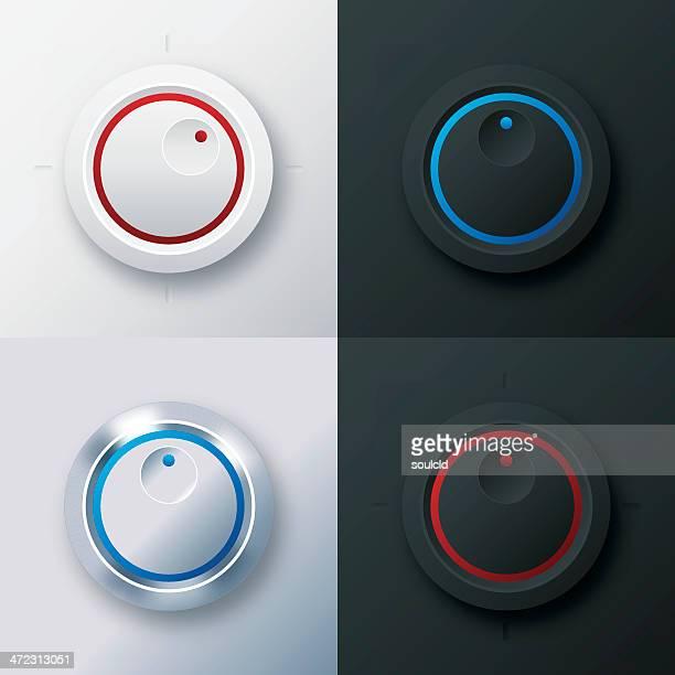 Conjunto de botões