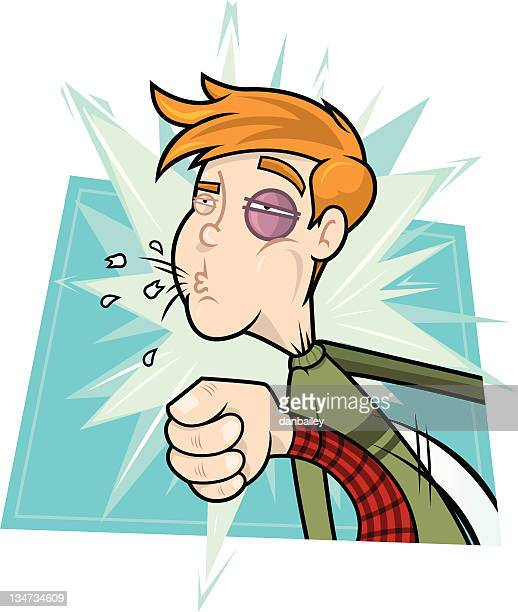 knock out blow - knockout stock illustrations, clip art, cartoons, & icons