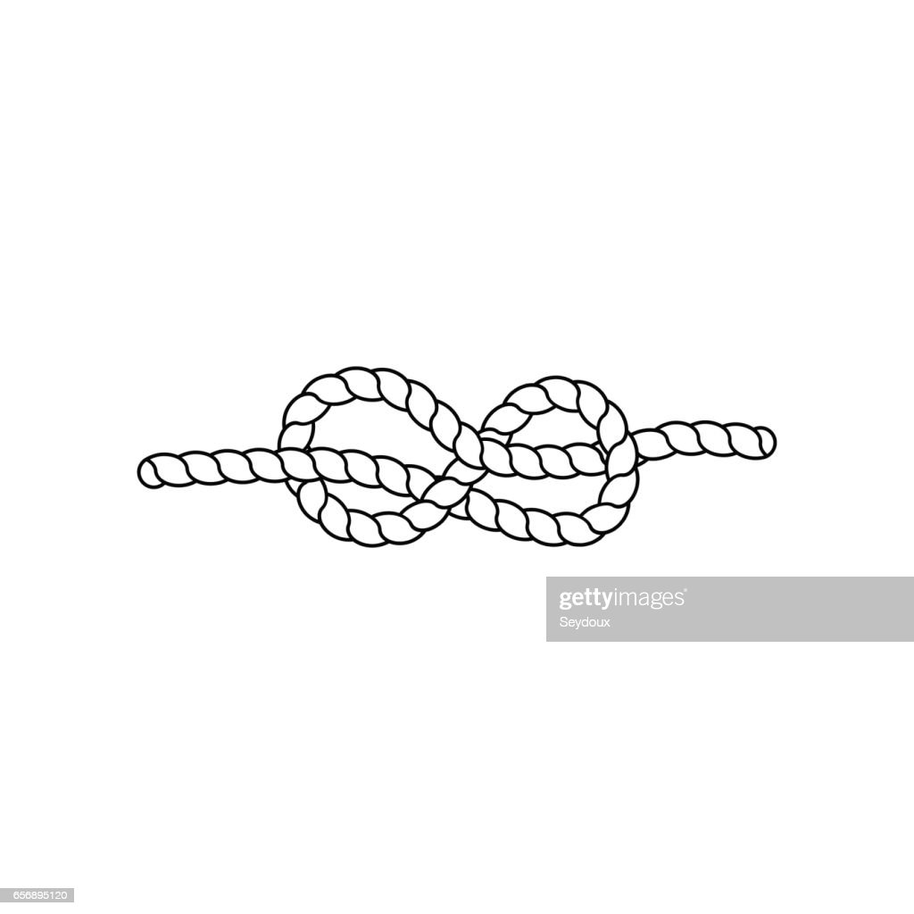 Knot. Vector illustration