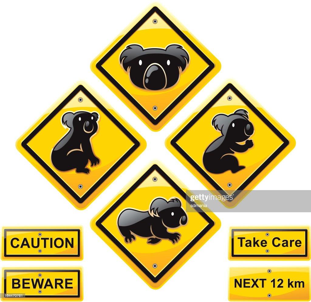 koala Animal  traffic sign