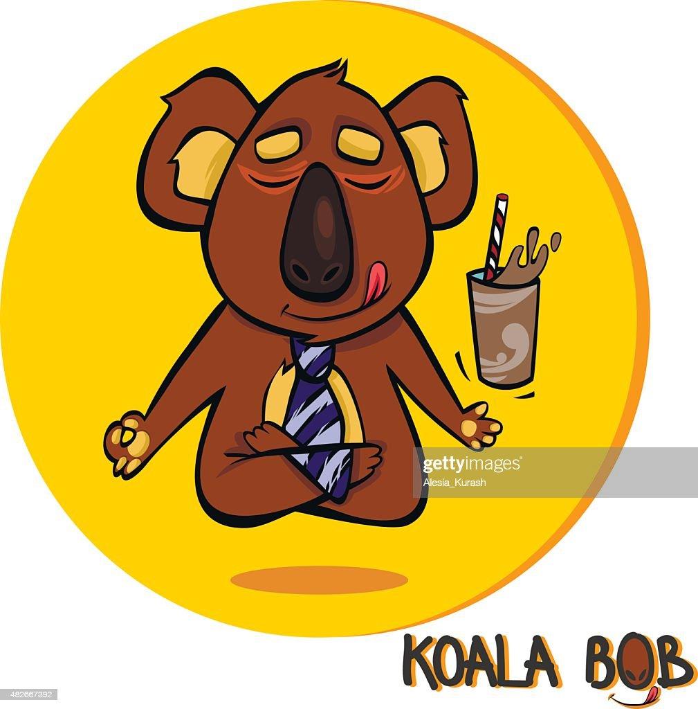 Koala Bob in meditation