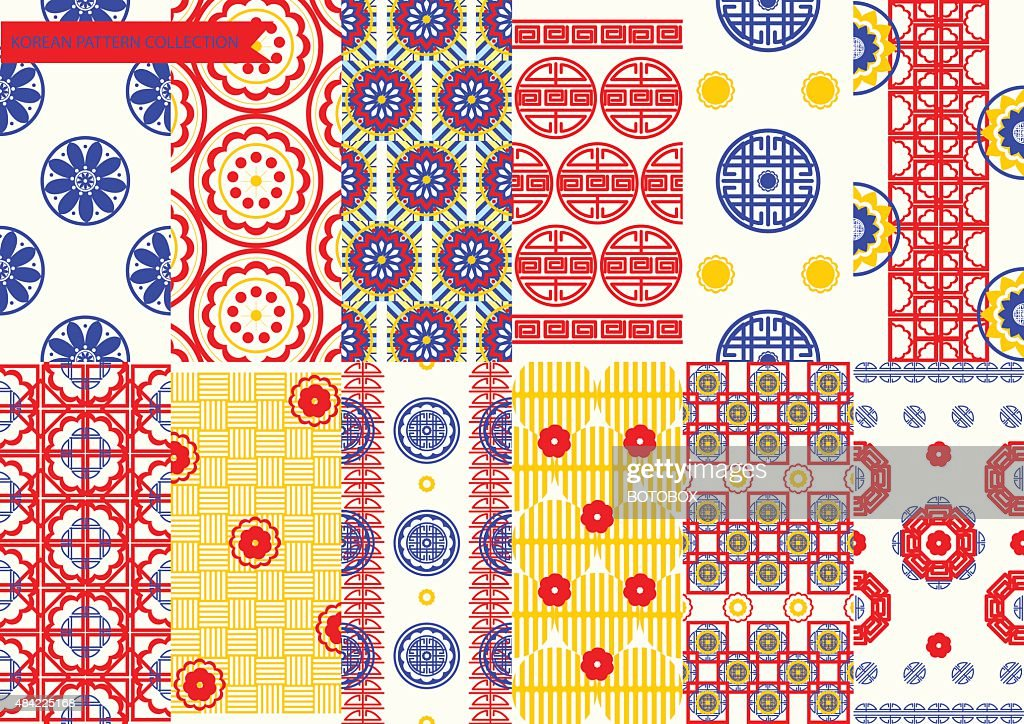 Korean Pattern set