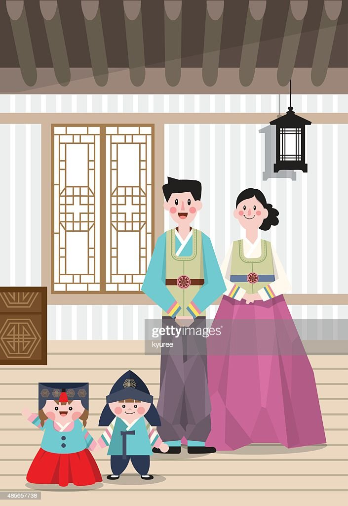 Korean traditional costume A