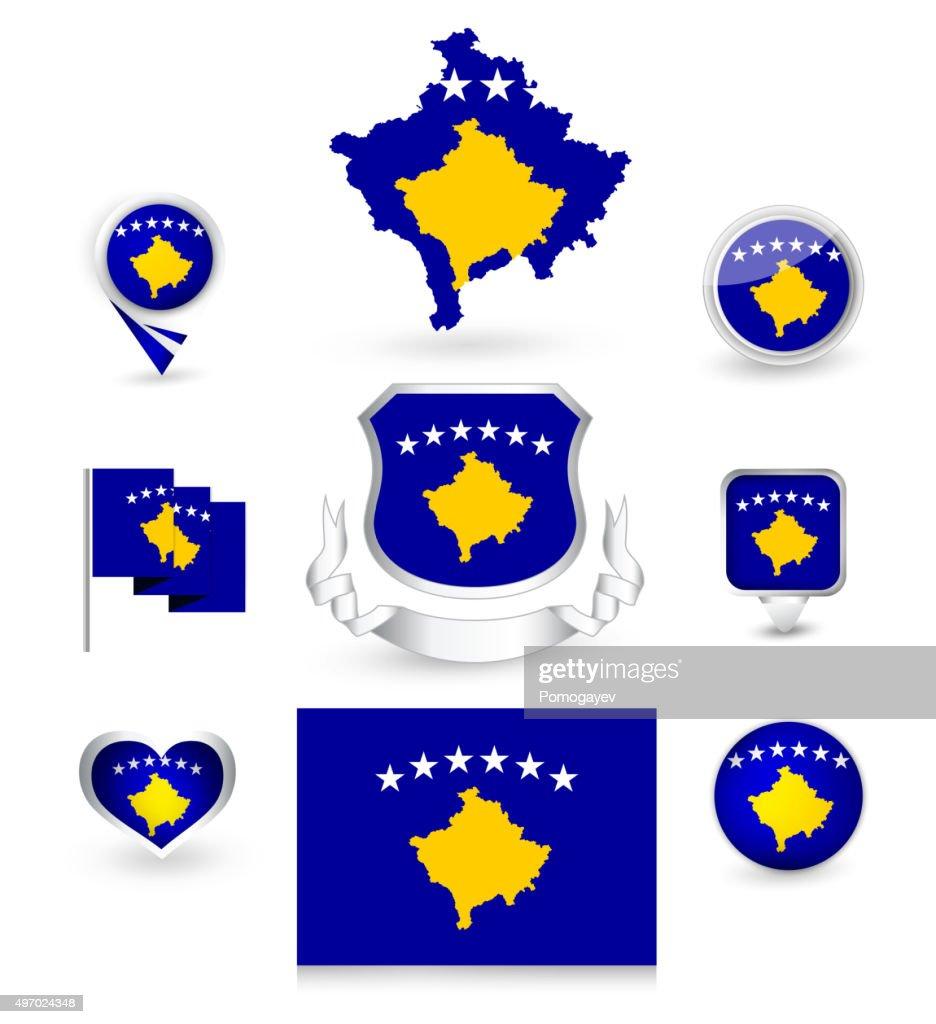 Kosovo Flag Collection