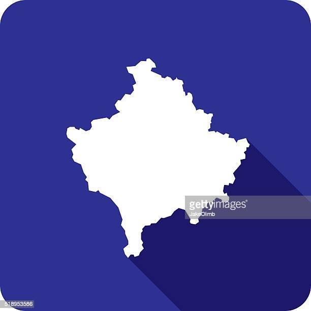 Kosovo Icon Silhouette