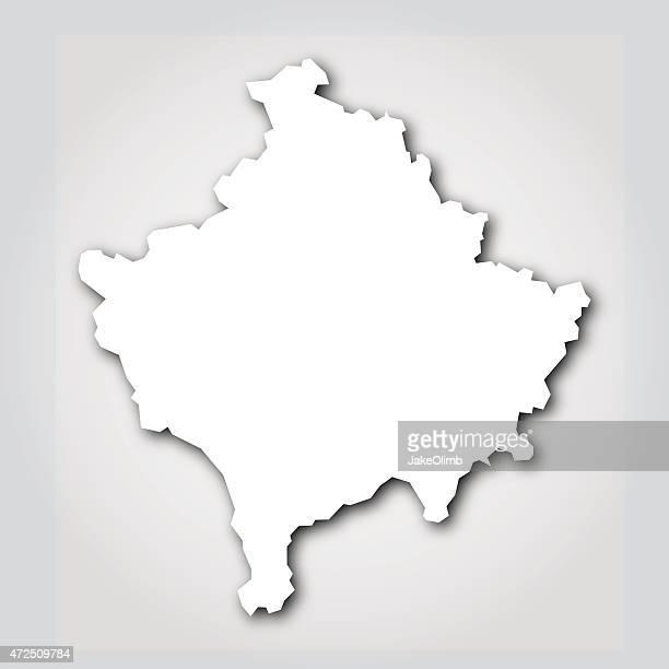 Kosovo Silhouette White