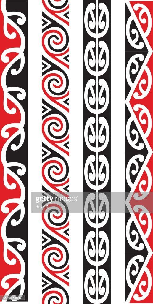Kowhaiwhai Pattern