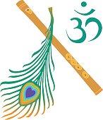 Krishna symbol