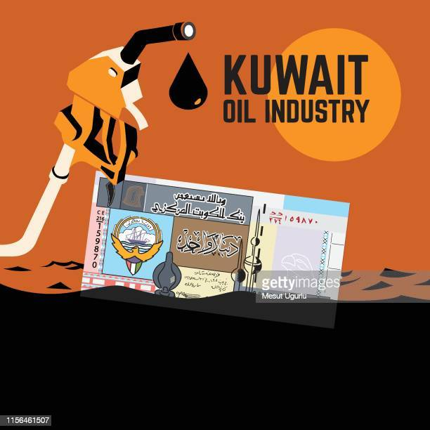 kuwait oil industry - qatar stock illustrations, clip art, cartoons, & icons