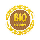 Label Bio Product With Ears