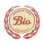 Label Guaranted Bio Product