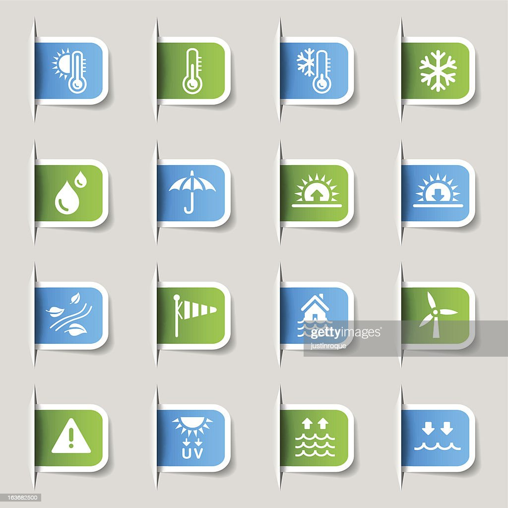 Label - Weather and Meteorology icons