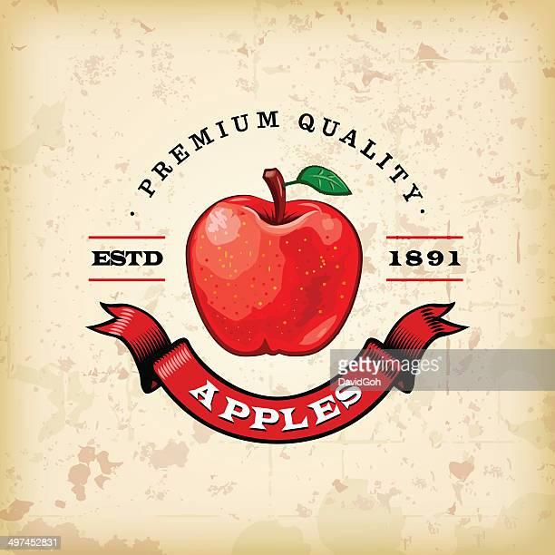 F&B Labels - Apples