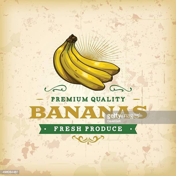 F & B etiquetas-Bananas