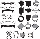 Labels, Banners, Shields