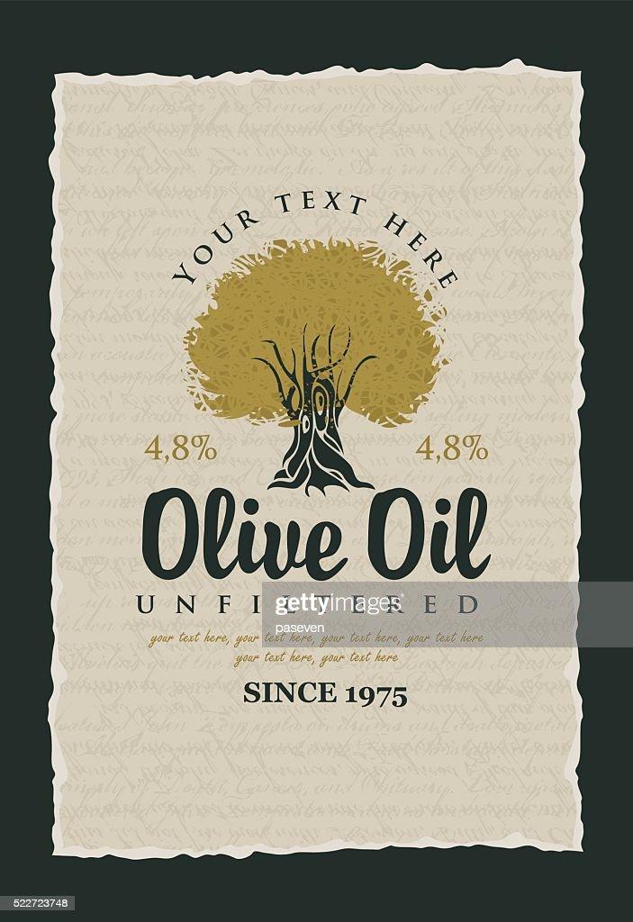 labels for olive oils
