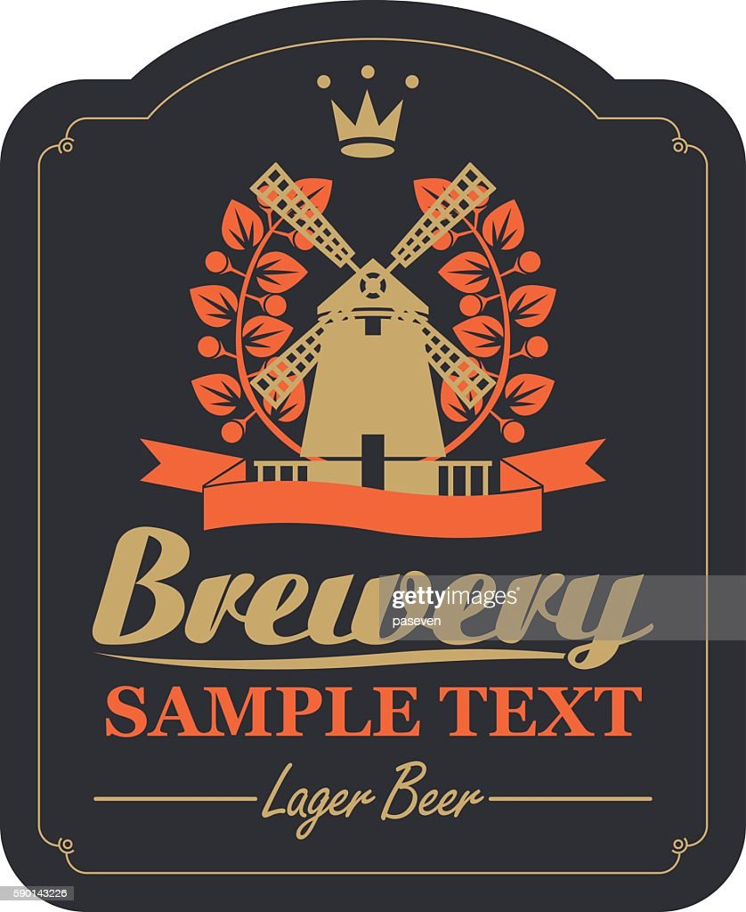 labels for the brewery