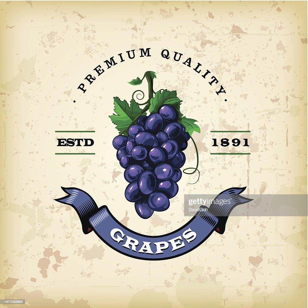 F&B Labels - Grapes