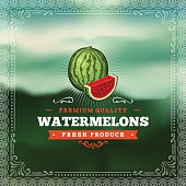 F&B Labels - Watermelon