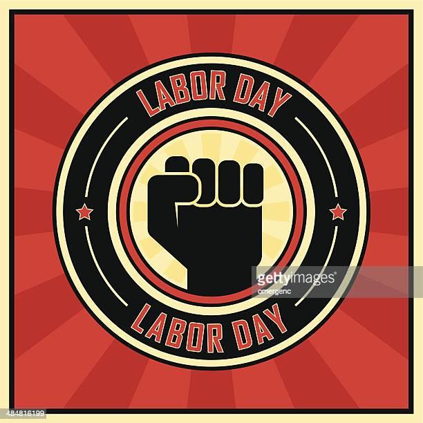 ilustraciones, imágenes clip art, dibujos animados e iconos de stock de día del trabajo - socialismo