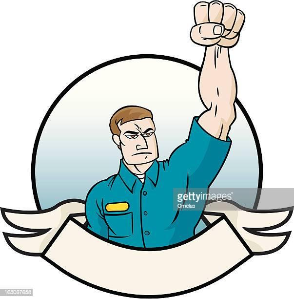 ilustrações de stock, clip art, desenhos animados e ícones de sindicatos - gari