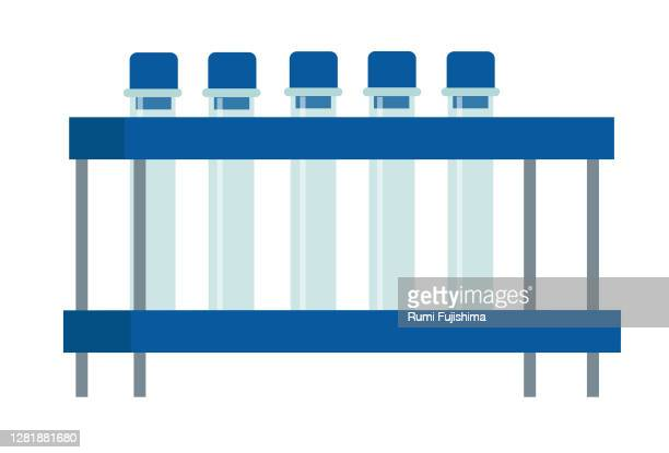実験室用ガラス製品 - 医療研究所点のイラスト素材/クリップアート素材/マンガ素材/アイコン素材