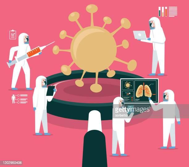 ilustraciones, imágenes clip art, dibujos animados e iconos de stock de stock de laboratorio - arma biológica