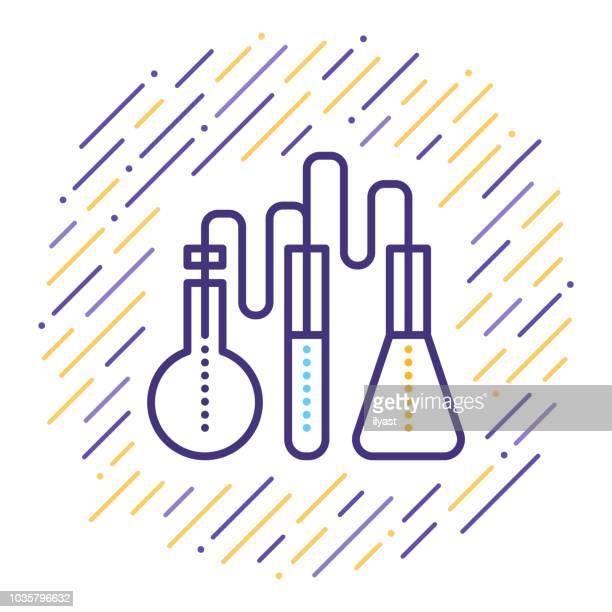 Laboratory Test Line Icon