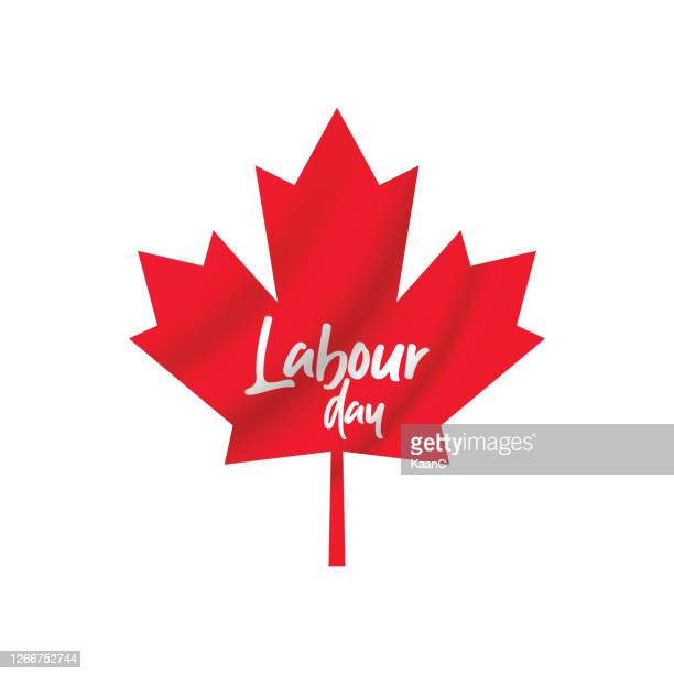labour day poster. happy labour day. canada happy labour day vector illustration stock illustration - labour day stock illustrations