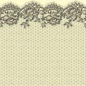 Lace. Seamless pattern.