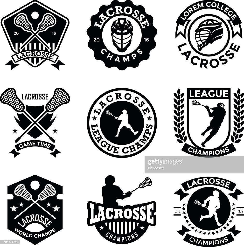 Lacrosse Badges