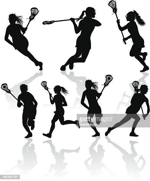 Lacrosse Offense - Girls