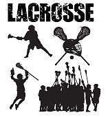 Lacrosse Players, Team, Sticks and Typescript