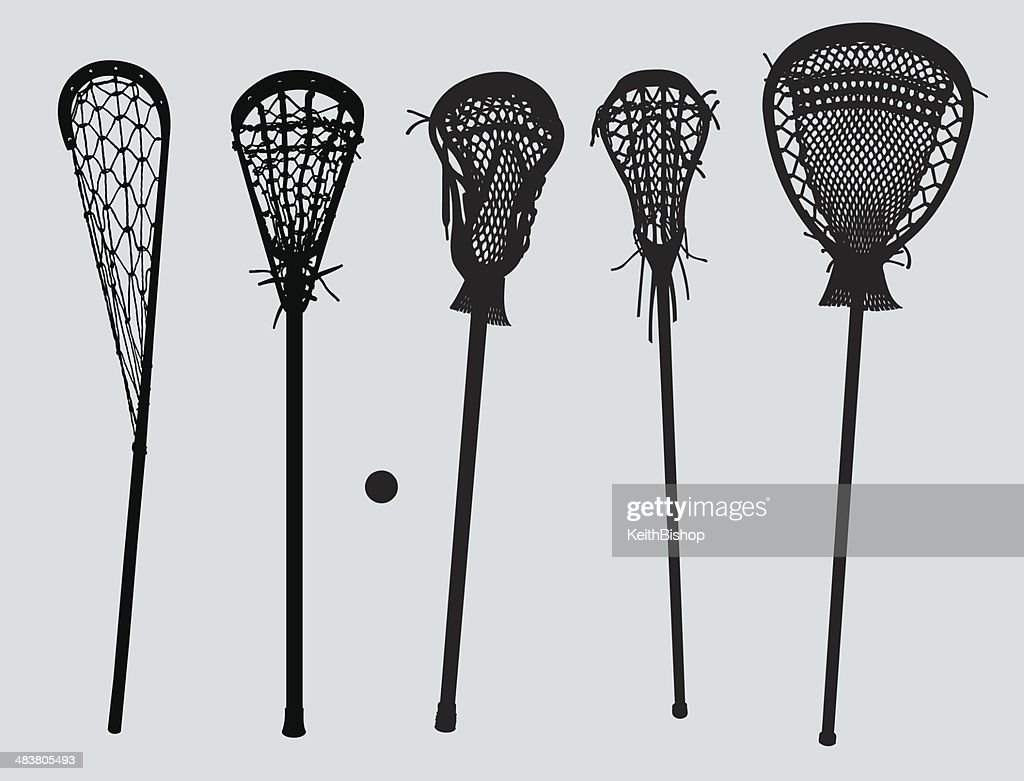 Lacrosse Sticks - old to new and goalie