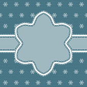 Lacy snowflake ornament