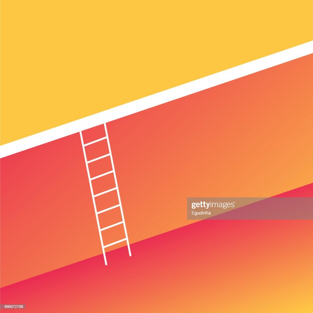 Ladder across the big wall