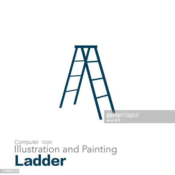 Step Ladder Stock Illustrations And Cartoons Getty Images